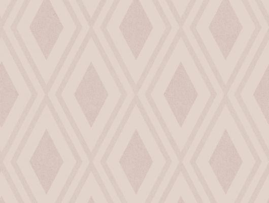 Флизелиновые обои из Швеции коллекция Northern FEELINGS от Collection For Walls под названием Modern Trellis. Крупный геометрический рисунок пудрового розового оттенка. Фон обоев имитирует ткань. Обои для коридора, обои для гостиной. Большой ассортимент, онлайн оплата, купить обои, Northern FEELINGS, Обои для гостиной, Обои для спальни, Флизелиновые обои