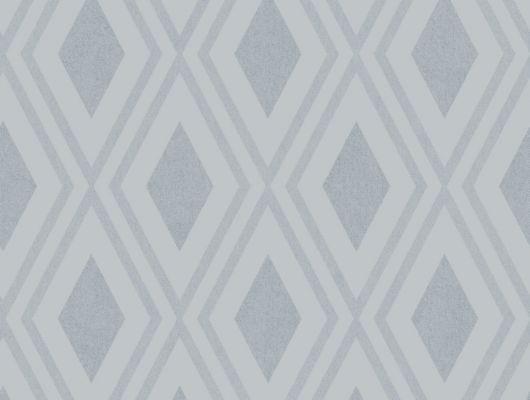 Флизелиновые обои из Швеции коллекция Northern FEELINGS от Collection For Walls под названием Modern Trellis. Крупный геометрический рисунок голубого цвета. Фон обоев имитирует ткань. Обои для коридора, обои для гостиной. Большой ассортимент, онлайн оплата, купить обои, Northern FEELINGS, Обои для гостиной, Обои для кабинета, Обои для спальни, Флизелиновые обои