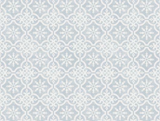 Флизелиновые обои из Швеции коллекция Northern FEELINGS от Collection For Walls. Рисунок Marrakesh Small имитация керамической плитки бело-голубого цвета. Обои для кухни, обои для гостиной. Купить обои в интернет-магазине Одизайн, бесплатная доставка, онлайн оплата, Northern FEELINGS, Архив, Обои для гостиной, Обои для кухни, Обои для спальни, Флизелиновые обои