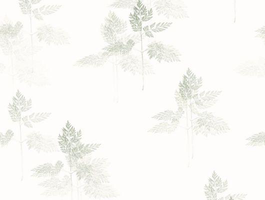 Флизелиновые обои из Швеции коллекция Northern FEELINGS от Collection For Walls. Нежный растительный рисунок зеленого цвета под названием Meadow на белом фоне. Обои для спальни, обои для кухни. Бесплатная доставка, купить обои, большой ассортимент, Northern FEELINGS, Обои для кухни, Обои для спальни, Флизелиновые обои