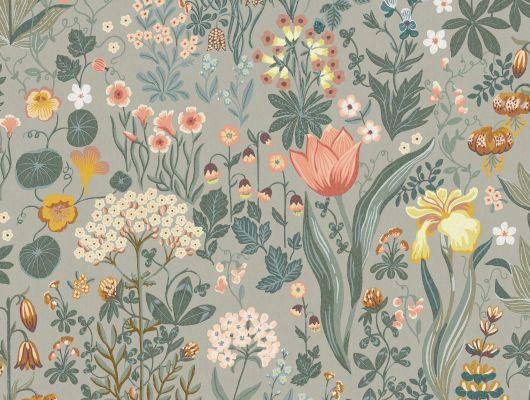 Фото обоев коллекции SPECIAL EDITION FLOWERY от Borastapeter с рисунком BLOMSTERHAV. Выбрать обои в спальню на сайте odesign.ru., Special Edition Flowery, Обои для кухни, Обои для спальни