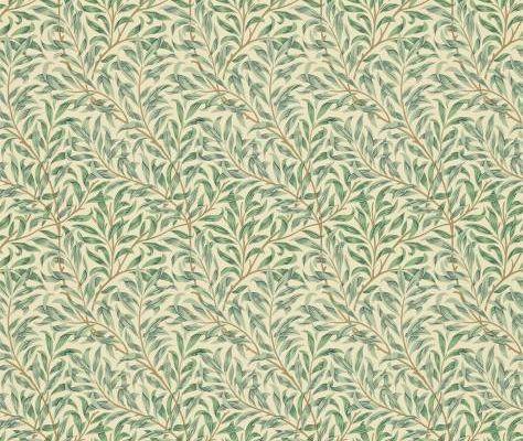 Бумажные обои с изображением ивовых ветвей для спальни Willow Boughs арт. 216814 из коллекции Compilation Wallpaper от Morris купить в Москве, Compilation Wallpaper, Обои для гостиной, Обои для кухни, Обои для спальни