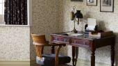 Купить в Москве дизайнерские обои Morris из коллекции Compilation Wallpaper дизайн Scroll  арт. 216831 гармоничный рисунок с изображением тимьяна из каталога.