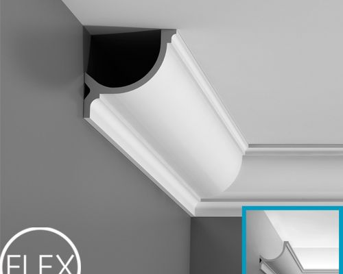 Карниз C902F  Orac Decor , Orac decor, Карнизы, Карнизы для скрытого освещения, Лепнина и молдинги, Назначение