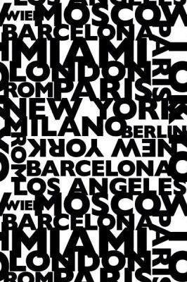 Фотообои под заказ с черными буквами на белом фоне, названия городов заказать, Artist 09, Индивидуальное панно, Обои для квартиры, Фотообои
