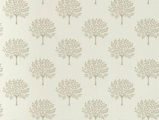 Выбрать обои для спальни с узором деревьев на белом фоне.Дизайн Marcham Tree арт.216899 из коллекции Littlemore от Sanderson по каталогу., Littlemore, Обои для гостиной, Обои для кабинета, Обои для спальни