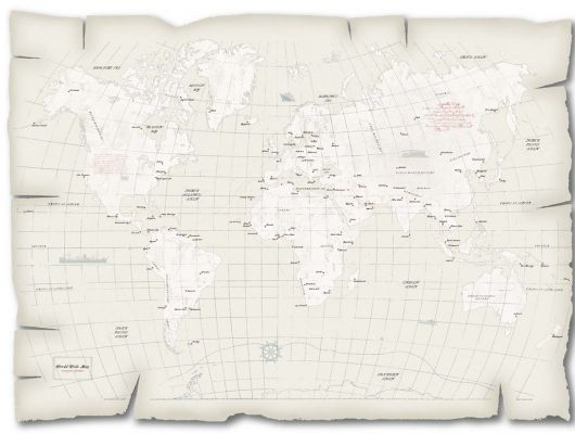 Фотообои для детей с изображением карты мира, Lilleby, Архив, Детские обои, Детские фотообои, Обои для квартиры, Обои для прихожей, Распродажа, Распродажные фотообои, Флизелиновые обои, Фотообои