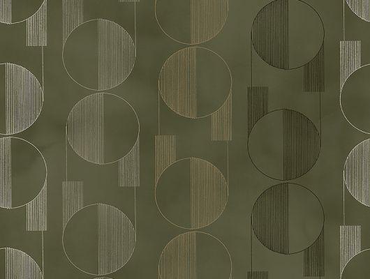 Флизелиновые обои из Швеции коллекция The Apartment от Borastapeter, с рисунком под названием Casablanca геометрический ретро рисунок бежевого, серебряного и черного цвета на зеленом фоне. Обои для коридора, обои для гостиной, обои для кабинета. Купить Шведские обои, онлайн оплата, большой выбор, бесплатная доставка, The Apartment, Новинки, Обои для гостиной, Обои для кабинета