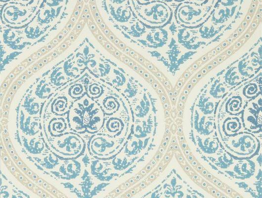 Выбрать флизелиновые обои Madurai арт. 216754 из коллекции Caspian выполненных в стиле фрески в красивых меловых оттенках, в каталоге., Caspian, Обои для гостиной, Обои для спальни