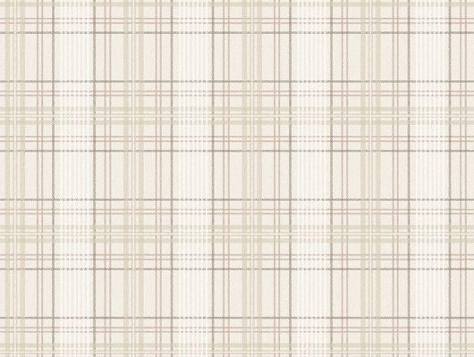 Купить обои Tailor´s Tweed, арт. 3578 с классическим клетчатым рисунком ткани шотландка  бежево-песочных оттенков в Москве с бесплатной доставкой., Cottage Garden, Обои в клетку, Обои для кабинета, Обои для кухни, Флизелиновые обои