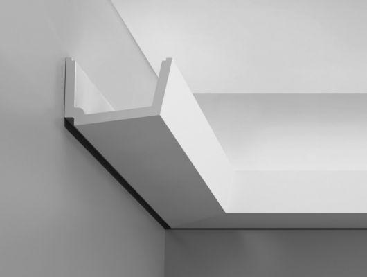 Карниз C357 - Straight, Orac decor, Карнизы, Карнизы для скрытого освещения, Лепнина и молдинги, Назначение