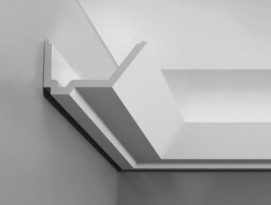 Карниз C358 - Rail  Orac Decor , Orac decor, Карнизы, Карнизы для скрытого освещения, Лепнина и молдинги, Назначение