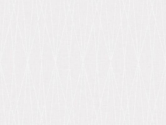 """Дизайнерские обои в спальню в рулоне арт. 38625  из коллекции """"Borosan EasyUp® 2020"""" от Borastapeter, Швеция с геометрическим рисунком в виде пересекающихся линий белого цвета с блеском на светло-сером фоне купить в салоне обоев Одизайн в Москве, Borosan EasyUp 2020, Обои для гостиной, Обои для спальни"""