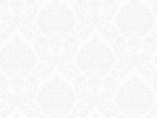 """Обои в гостиную арт. 38637 из коллекции  """"Borosan EasyUp® 2020"""" от Borastapeter белого цвета с элегантным мерцающим узором из медальонов выбрать, заказать в салонах Москвы., Borosan EasyUp 2020, Обои для гостиной, Обои для спальни"""