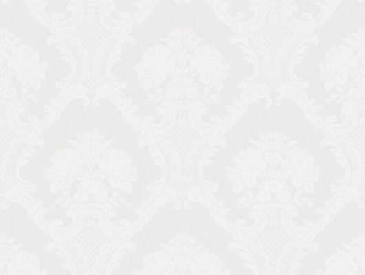 Обои Aura , коллекция Aliento de Valencia ,арт.4001-1 .Ажурный дамасский узор на светлом  фоне .Классический цветочный орнамент . Флизелиновые обои для спальни,  для гостиной. Купить обои,  интернет-магазин, онлайн оплата, бесплатная доставка, большой ассортимент., Aliento de Valencia, Обои для гостиной, Обои для кухни, Обои для спальни