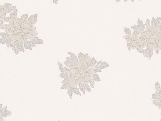 Обои Aura , коллекция Aliento de Valencia ,арт.4002-1 .Растительный узор на светлом  фоне .Классический цветочный орнамент . Флизелиновые обои для спальни,  для гостиной,для кухни. Купить обои,  интернет-магазин, онлайн оплата, бесплатная доставка, большой ассортимент., Aliento de Valencia, Обои для кухни, Обои для спальни