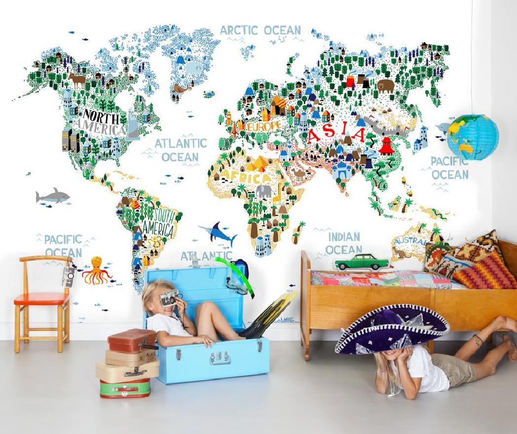 Фотообои для детской комнаты для мальчиков и девочек - каталог интернет-магазина ОДизайн