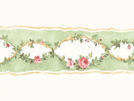 Aura Little England III PP79059 заказать бордюр для обоев,Обои для стен с цветочным узором.Недорого.Доставка. Большой ассортимент., Little England III, Бордюры для обоев, Обои для гостиной, Обои для кухни, Обои для спальни
