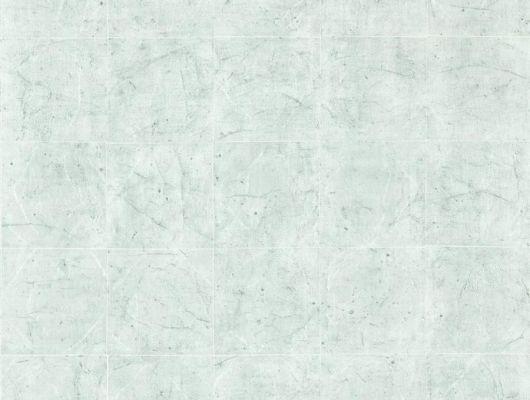Флизелиновые обои Piastrella la seine с изображением состаренной плитки нежно - голубого цвета и жемчужными швами в ассортименте, Folio, Обои для кабинета, Обои для кухни