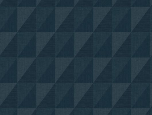 Обои с темно-синим геометрическим дизайном, которые можно протирать влажной губкой, Modern Spaces, Моющиеся обои, Обои для квартиры