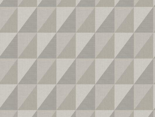 Серый геометрический паттерн на обоях, которые подойдут в интерьеры в стиле лофт, Modern Spaces, Обои для квартиры