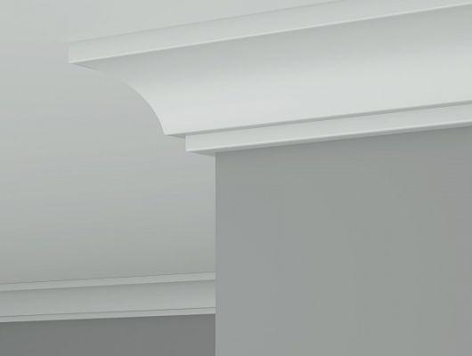 Карниз CR 0014  Ultrawood Чили, Ultrawood, Карнизы, Лепнина и молдинги, Назначение, Профили для штор