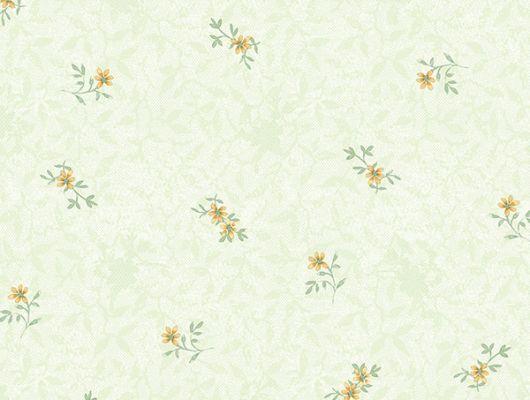 Обои бумажные с клеевой основой Aura  ,коллекция  Little England III,арт.PP35514 Цветочный узор на светлом зеленом фоне .Растительный узор . Обои с мелкими цветами. Дизайнерские обои.Купить обои, для гостиной ,для спальни,для кухни , интернет-магазин, онлайн оплата, бесплатная доставка, большой ассортимент., Little England III, Обои для гостиной, Обои для кухни, Обои для спальни