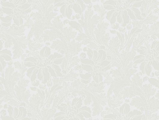 Флизелиновые обои в спальню с романтическим узором из бежевых цветов, Arkiv Engblad, Обои для квартиры, Обои для спальни