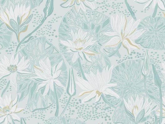 Флизелиновые обои с цветочным рисунком в виде лилий где потрогать, Arkiv Engblad, Обои с рисунком, Хиты продаж