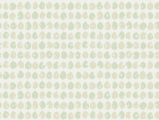 Обои с изображением зеленых листиков, идельно подойдут на любую кухню, Arkiv Engblad, Новинки, Обои для квартиры, Обои для кухни