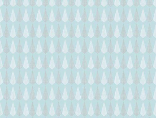 Кабинетные обои с мелким рисунком на голубом фоне, Reflections, Архив, Обои для кабинета, Обои для квартиры, Распродажа, Хиты продаж