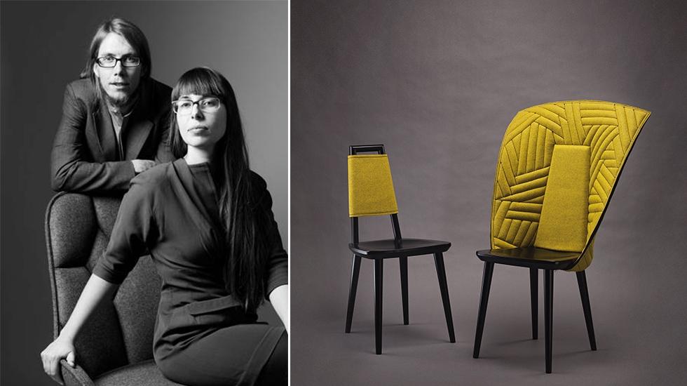 французско-шведская студия дизайна Färg & Blanche восходящие звёзды дизайна