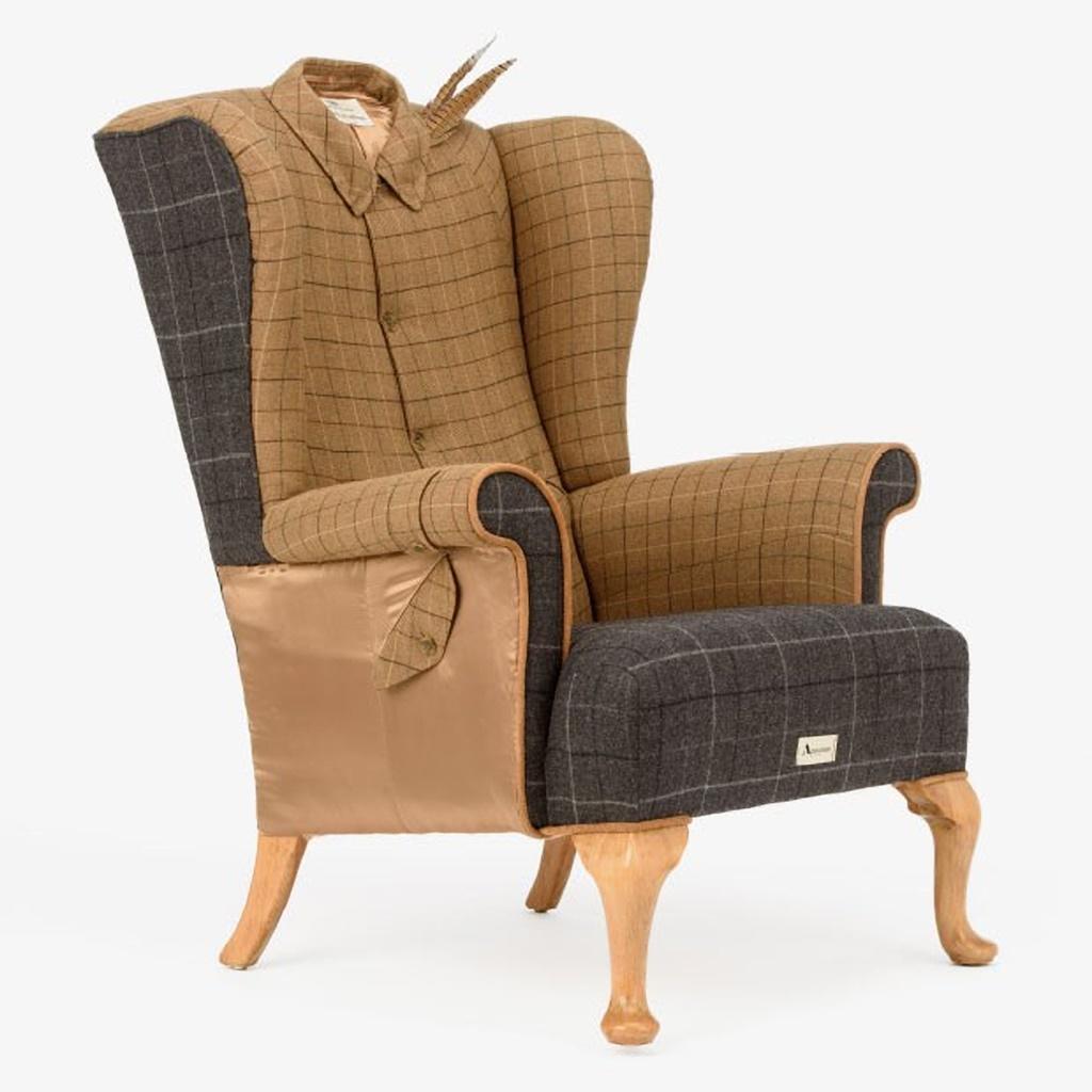 02 The Aquascutum Game Bird Wing Chair