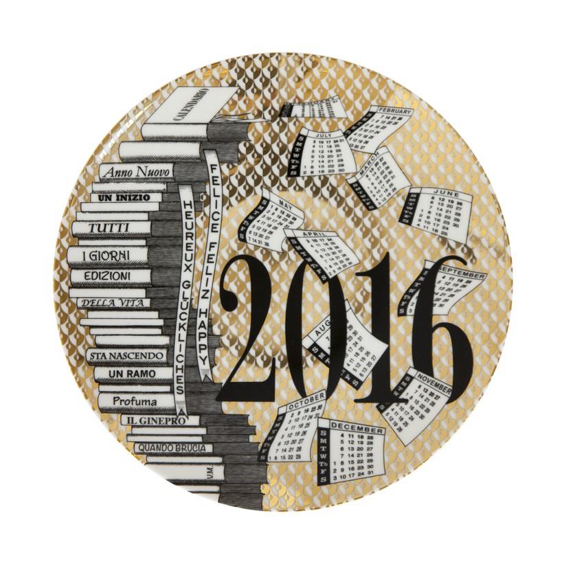 Тарелка Форназетти 2016 Fornasetti plate 2016