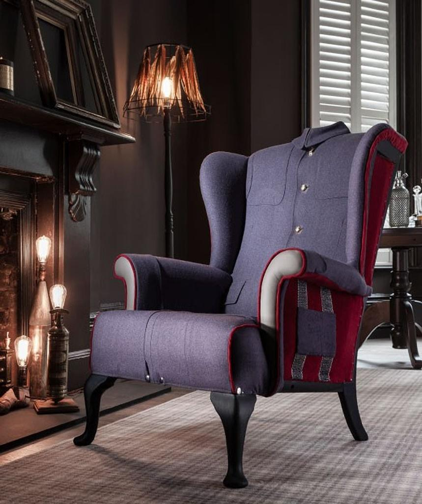 01 The Buckingham Palace Wing Chair