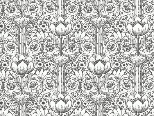 Обои art 6086 Флизелин Eco Wallpaper Швеция, Black and White, Архив, Обои для квартиры, Распродажа