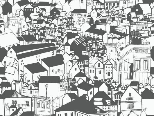 Обои art 6091 Флизелин Eco Wallpaper Швеция, Black and White, Архив, Обои для квартиры, Распродажа