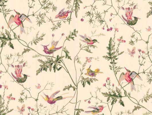 Обои art 62/1001 Бумага Cole & Son Великобритания, Collection of flowers, Английские обои, Архив, Бумажные обои, Обои для спальни, Флизелиновые обои