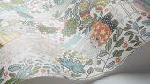 """Обои для детской комнаты Charlie. Borastapeter """"Scandinavian Designers Mini"""". С рисунком из белок веселящихся в зеленой кроне деревьев. Купить обои в Москве для квартиры по низкой цене с бесплатной доставкой курьером"""