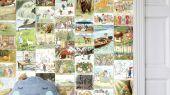Детское фотопанно Elsa Beskows Sagostund от Borastapeter, из коллекции Scandinavian Designers Mini с персонажами из детских сказок Эльзы Бесков. Панно предстваленно в виде фрагментов из сказок разбросанных по всему панно. Выберите обои в салоне в Москве или в нашем интернет-магазине.