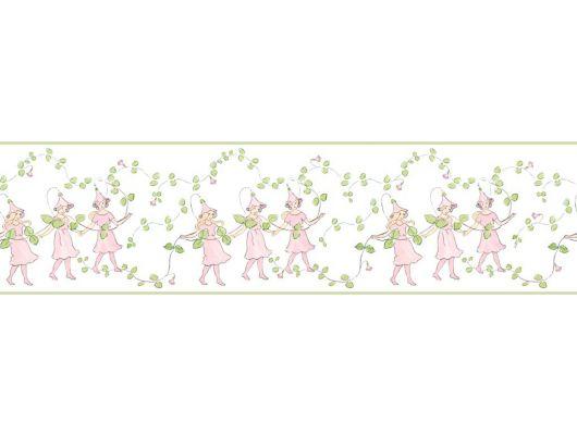 """Обои Borastapeter """"Scandinavian Designers Mini"""" Арт.6276. Детский бордюр для стен с волшебным рисунком Linne. Купить в Москве с доставкой., Scandinavian Designers Mini, Архив, Бордюры для обоев"""