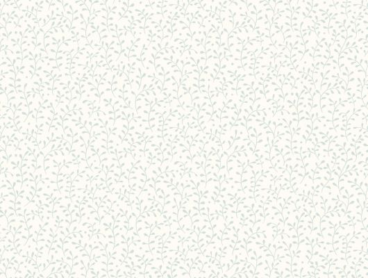 Флизелиновые обои в спальню с мелким цветочным рисунком синего цвета на белом фоне где купить, Beautiful Traditions, Обои для спальни, Хиты продаж