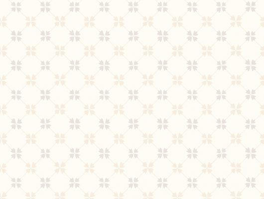Обои для кабинета Астрид, с мелким ромбовидным рисунком бежевого цвета на белом фоне купить с доставкой, Beautiful Traditions, Архив, Обои для кабинета, Обои для квартиры, Обои для кухни