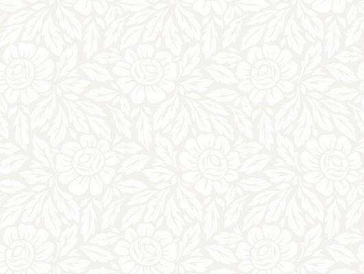 Белые флизелиновые обои для гостиной с цветочным рисунком где магазины