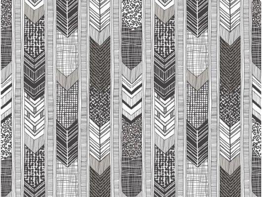 Флизелиновые обои Aura Global Fusion G56382 A. Купить черно-белые обои с геометрическим рисунком в Москве. Для спальни,гостиной, прихожей., Global Fusion, Обои для гостиной, Обои для кабинета, Обои для спальни