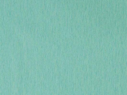 Заказать флизелиновые обои Caspian Strie арт. 216775 из коллекции Caspian, Sanderson,  бирюзового оттенка с бесплатной доставкой., Caspian, Обои для гостиной, Обои для кабинета