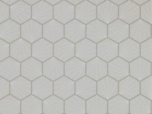 Подобрать английские обои для спальни Aikyo в сдержанном сером цвете с геометрическим рисунком из коллекции Japandi  от Scion., Japandi, Обои для гостиной, Обои для кабинета, Обои для спальни