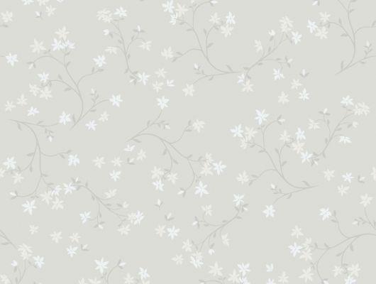 Обои с небольшим цветочным узором можно протирать и мыть, Decorama Easy Up 2016, Архив, Моющиеся обои, Обои для квартиры, Распродажа