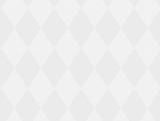 Обои из флизелина с жемчужными ромбиками на белом фоне