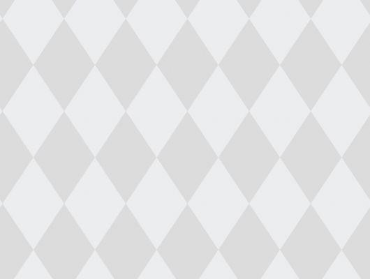 Обои с серыми ромбиками стойкие к мытью, Decorama Easy Up 2016, Архив, Моющиеся обои, Обои для квартиры, Распродажа